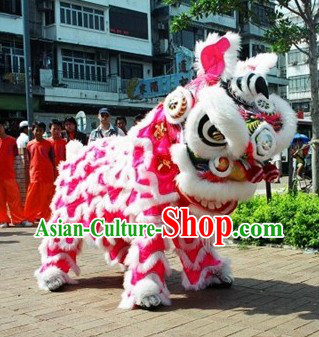 Outdoor Chinese New Year Lion Dance Suit Complete Set