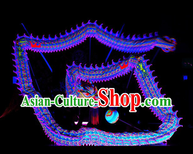 Top Quality Illuminated Competition and Performance Dragon Dance Costumes Complete Set