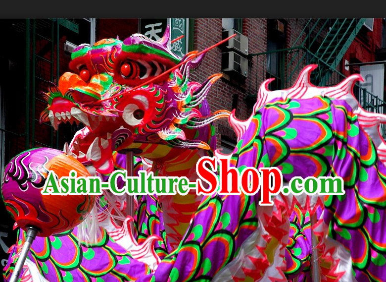High School Illuminated Dragon Dance Costume for 9-10 Students