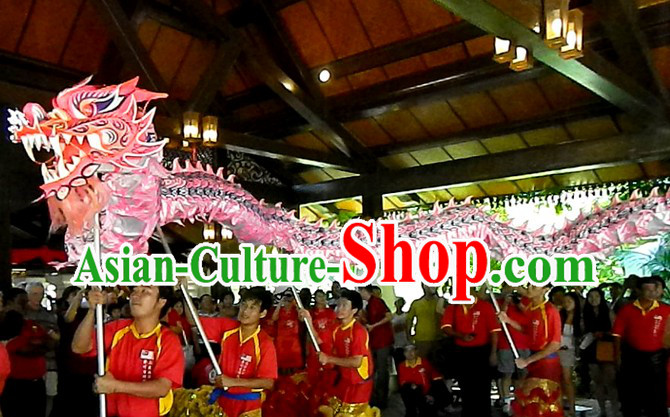 Chinese New Year Dragon Dance Costume for 9-10 Persons