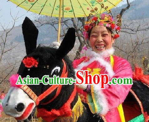 Chinese Lunar New Year Donkey Costume for Adults