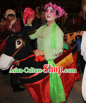 Chinese Lunar New Year Horse Equipment for Women