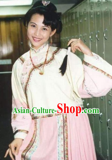 Traditional Chinese Swordwoman Costumes Complete Set