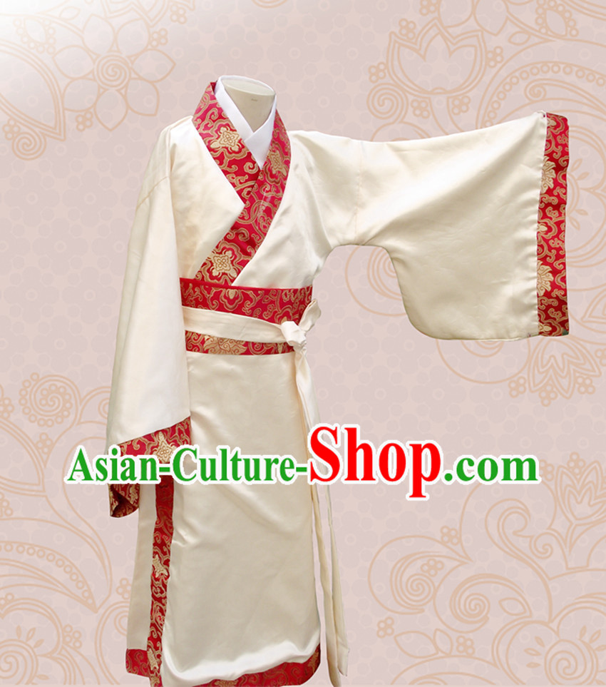 Ancient Chinese Male Hanfu Clothing for Children