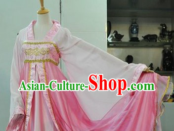 Tang Dynasty Pink Lady Skirt