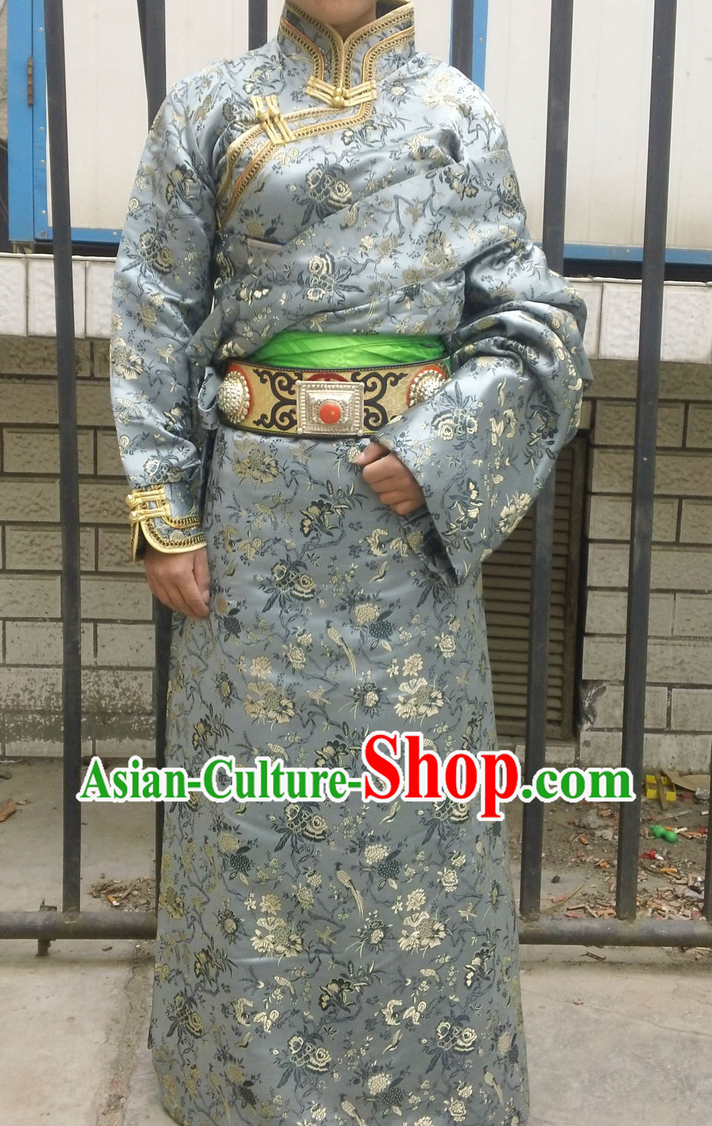 Traditional Tibetan Ceremonial Clothing for Women