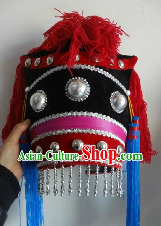 Chinese Yi Minority Dancing Hat for Women
