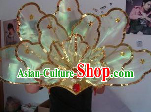 Chinese Classical Dancing Big Flower Headpiece for Women