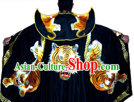 Chinese Embroidered Tiger Cape
