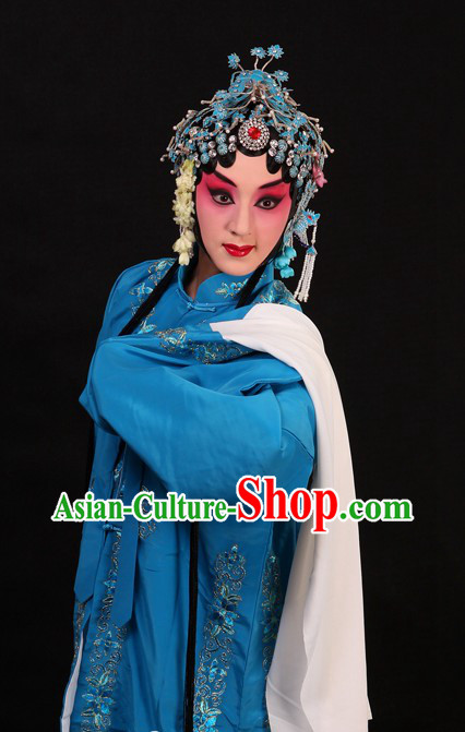Chinese Opera Qing Yi Faithful Lover Costumes for Women