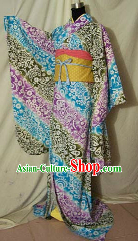 Traditional Japanese Clothing Complete Set for Women