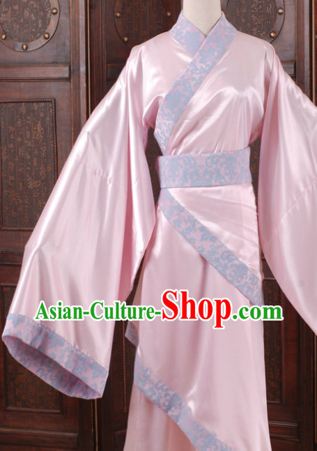 Traditional Chinese Pink Hanfu Clothing for Women