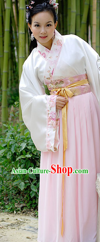Ancient Chinese Han Clothing for Women