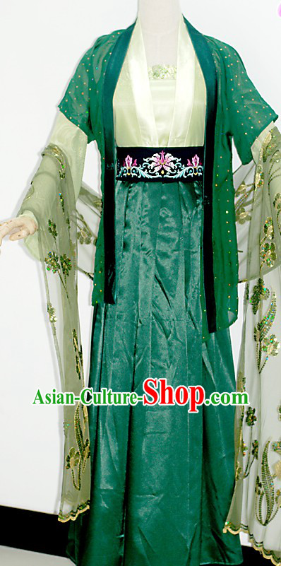 Traditional Chinese Swordswoman Clothing