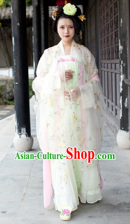 Traditional Chinese Tang Dynasty Spring Clothing for Women