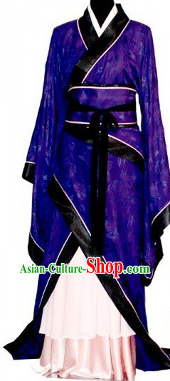 Ancient Chinese Han Dynasty Clothing for Women