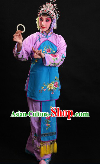 Traditional Chinese Opera Girl Jacket Costumes