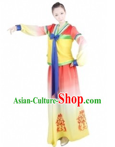 Traditional Chinese Korean Dance Costumes for Women