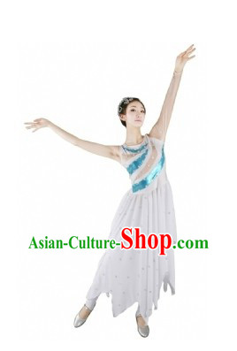 Chinese Modern Dance Costumes for Women