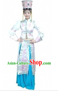 Chinese Mongolian Dancing Costumes for Women