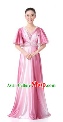 Traditional Chinese Chorus Clothes for Women