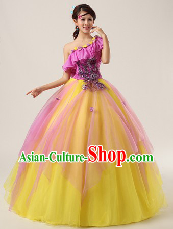 Chinese Modern Solo Competition Clothing for Women