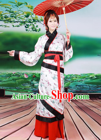 Ancient Chinese Han Dynasty Robe for Women