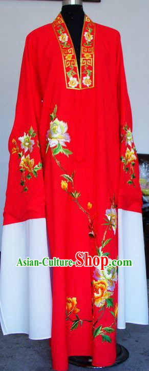 Ancient Chinese Red Long Sleeve Robe