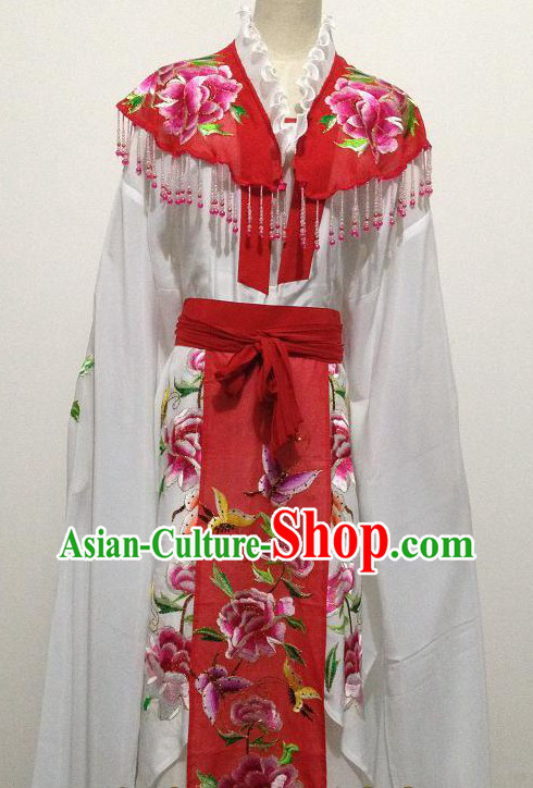 Ancient Chinese Hua Dan Beauty Butterfly Costumes for Women