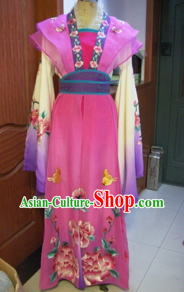 Ancient Chinese Opera Diao Chan Costumes Complete Set for Women
