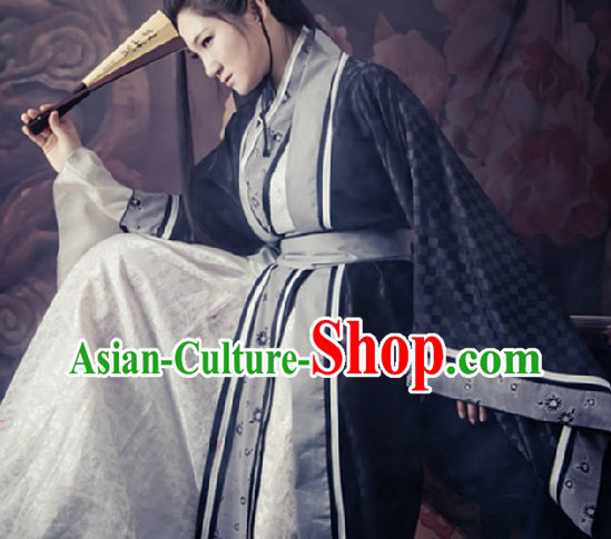 Ancient Chinese Swordsman Clothing for Men