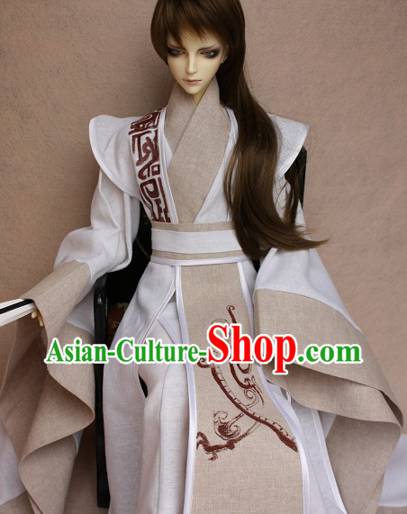 Traditional Ancient Chinese Swordsman Dragon Clothing