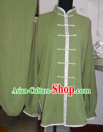Traditional Chinese Silk Tai Ji Clothing
