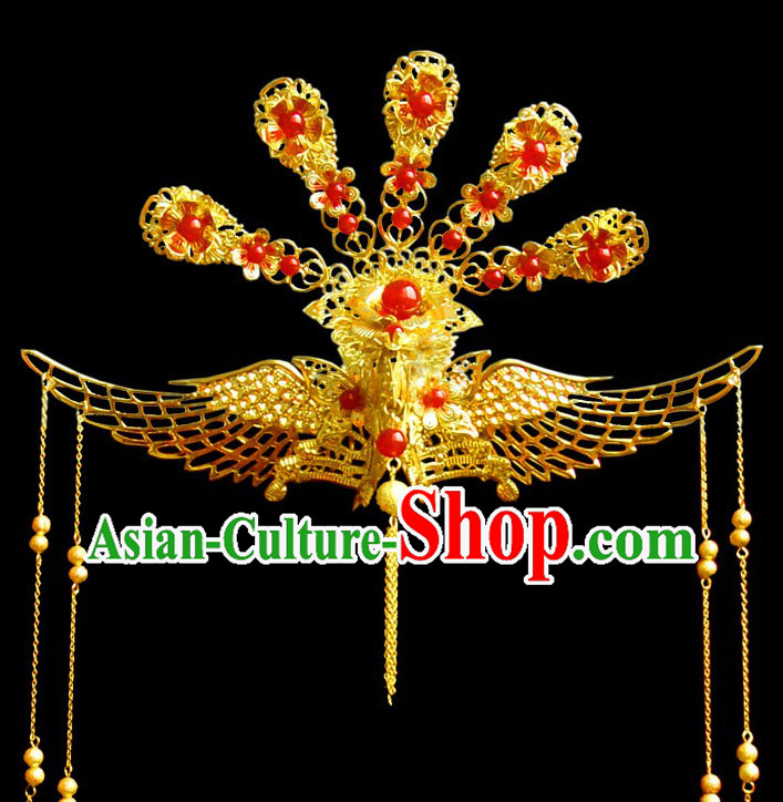 Ancient Chinese Princess Phoenix Headdress for Women