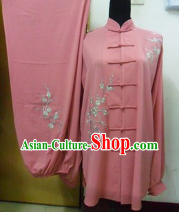 Traditional Chinese Silk Tai Chi Contest Uniform