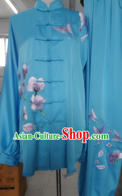 Chinese Classical Butterfly and Flower Martial Arts Uniform