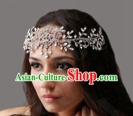 Chinese Classic Bridal Wedding Forehead Accessories