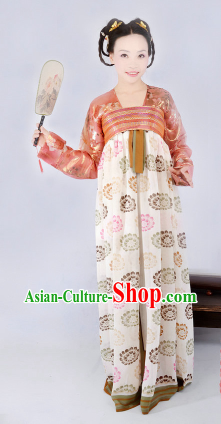 Ancient Chinese Tang Dynasty Imperial Palace Maid Costumes