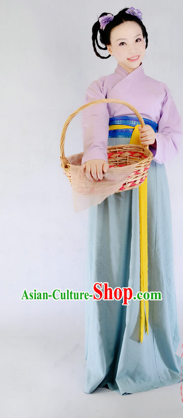 Chinese Han Dynasty Female Ancient Costume