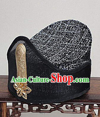 Ancient Chinese Xiao Ao Jiang Hu Swordman Hat for Men
