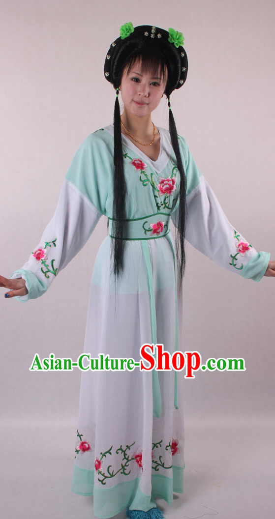 Traditional Chinese Shaosing Opera Female Costumes