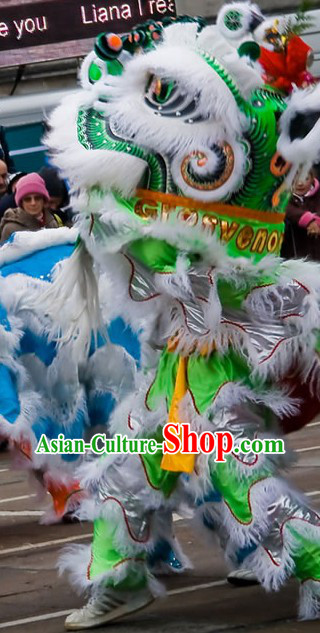 how to make lion dance costume