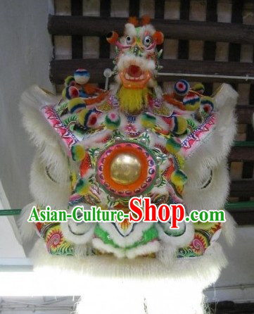 Hand Made Chinese Dragon Lion Head for Display or Important Performance