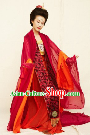 Imperial Tang Palace Gu Zhuang Han Fu Apparel Set for Women