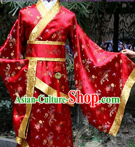 Ancient Traditional Chinese Bridegroom Wedding Clothes