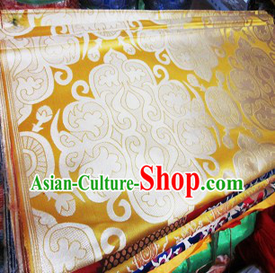 Traditional Chinese Tibetan Robe Brocade Fabric