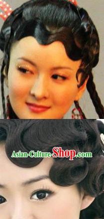 Chinese Old Style Hair Bang Wig
