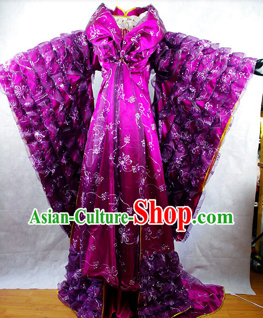 Ancient Chinese Empress Clothes Complete Set