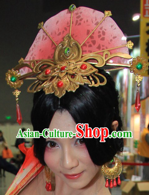 Chinese Classic Stage Performance Hair Accessories for Women