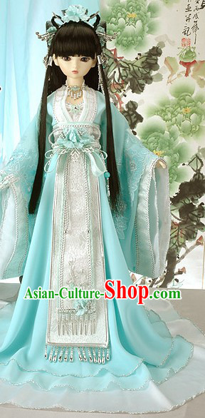 Ancient Chinese Fairy Costumes Outfits for Ladies